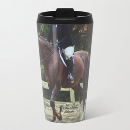 """All Riders Trot Please, All Riders Trot"" Travel Mug"