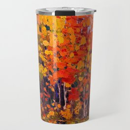 Tom Thomson - Autmn Wood - Canada, Canadian Oil Painting - Group of Seven Travel Mug