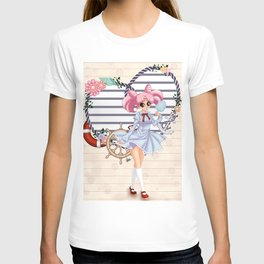 Nautical ChibiUsa T-shirt