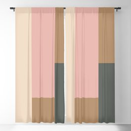 Contemporary Composition 24 Blackout Curtain