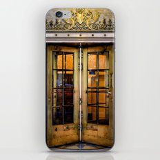 Golden Doors iPhone & iPod Skin