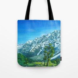 Himalaya mountains Tote Bag