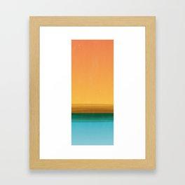 Quiet (landscape) Framed Art Print