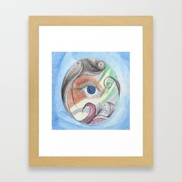 Color Vision Framed Art Print
