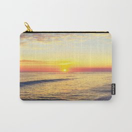 Summer Sunset Ocean Beach - Nature Photography Carry-All Pouch