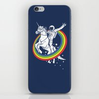 rainbow iPhone & iPod Skins featuring Epic Combo #23 by Jonah Makes Artstuff