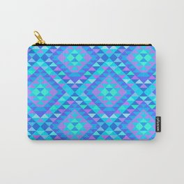 KILIM NO. 9 IN BLUE MULTI Carry-All Pouch
