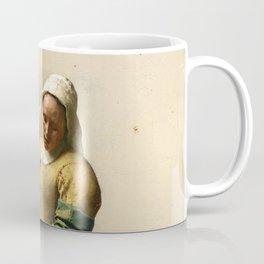 """Johannes Vermeer """"The Milkmaid"""" Coffee Mug"""