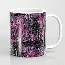 Van Gogh Trees & Underwood Pink Coffee Mug