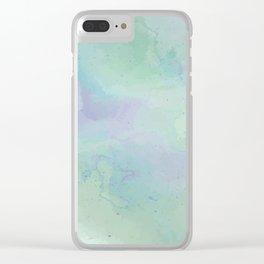 Lacuna Watercolour Sky Clear iPhone Case