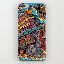 Mumbo Jumbo City (Color) iPhone Skin