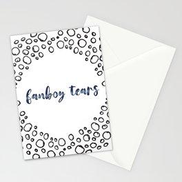 fanboy tears Stationery Cards