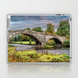 Llanrwst Bridge and Tea Room Laptop & iPad Skin