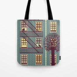 the fly (night) Tote Bag