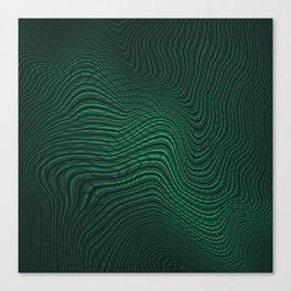 Intertwined Matrix Canvas Print