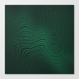 Intertwined Matrix Canvas Print