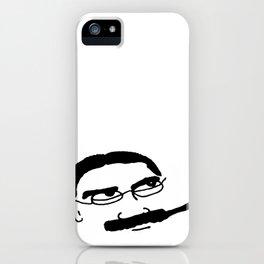 Groucho Marx Knit. iPhone Case