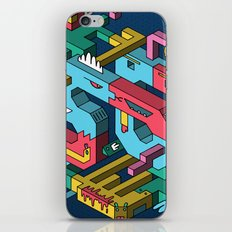 Font of all Known Ledges iPhone & iPod Skin