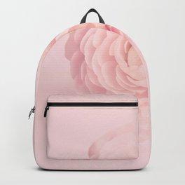 Pink Floral Nursery Soft Ranunculus Backpack