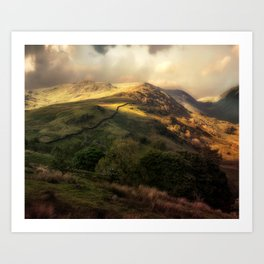 Postcards from Scotland Art Print