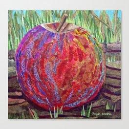 Otherworldly Apple Collage Canvas Print