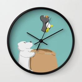 Nooooo Wall Clock