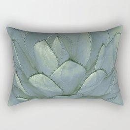 Agave Succulent Cactus Rectangular Pillow