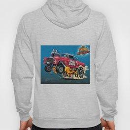 Hot Wheels Candy Striper 55 Gasser Poster Hoody