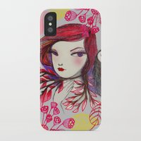 Red Owl Gal iPhone X Slim Case