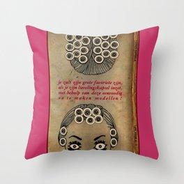 Coiffure Target 6000 Throw Pillow