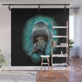 Shark! Wall Mural