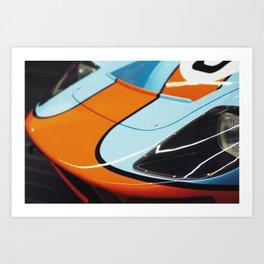 Pole Position Art Print