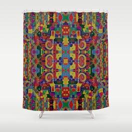 Cloisonne Color Joy Shower Curtain
