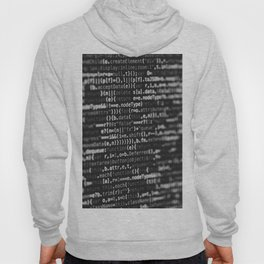 The Code (Black and White) Hoody