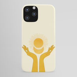 Holding the Light iPhone Case
