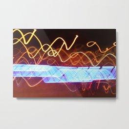 Shimmering lights 41 Metal Print
