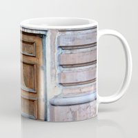 doors Mugs featuring Doors by Jessica Jimerson