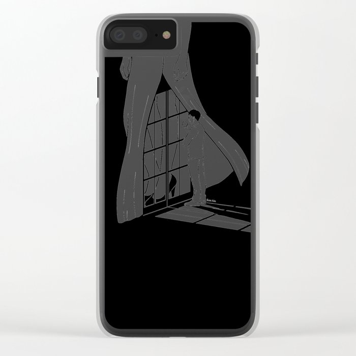Vision of you Clear iPhone Case