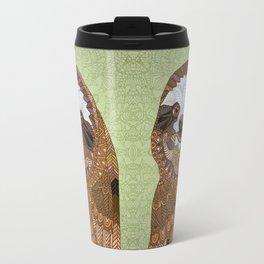 Smiling Sloth Travel Mug