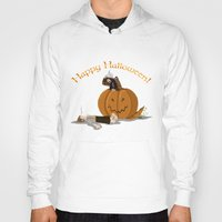 hobbit Hoodies featuring Hobbit Halloween by wolfanita