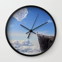 Catch the Heart Wall Clock