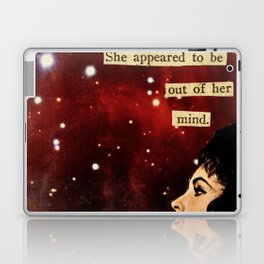 Out of Her Mind... Laptop & iPad Skin