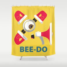 Bee-Do Bee-Do Shower Curtain