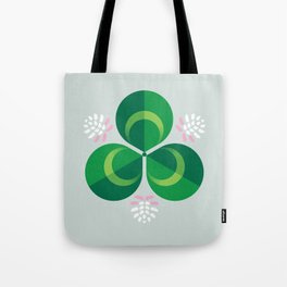 White Clover Tote Bag