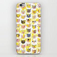 c.c. y.y. w.w. iPhone & iPod Skin