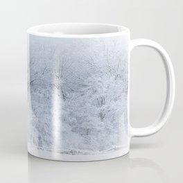 First Snow Fall Fresh Snow on Trees Nature Photography ~ Winter Hush Coffee Mug