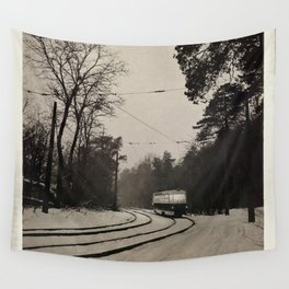 forest tram Wall Tapestry
