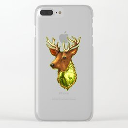 Spellbinding Nature Clear iPhone Case