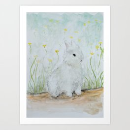 Eleanor on Easter Art Print