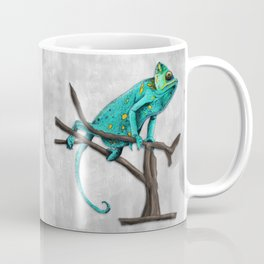 Chameleon on a branch Coffee Mug